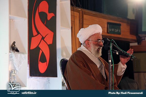 سخنرانی آیت الله جنتی در اختتامیه چهارمین جشنواره مردمی فیلم عمار، سینما فلسطین