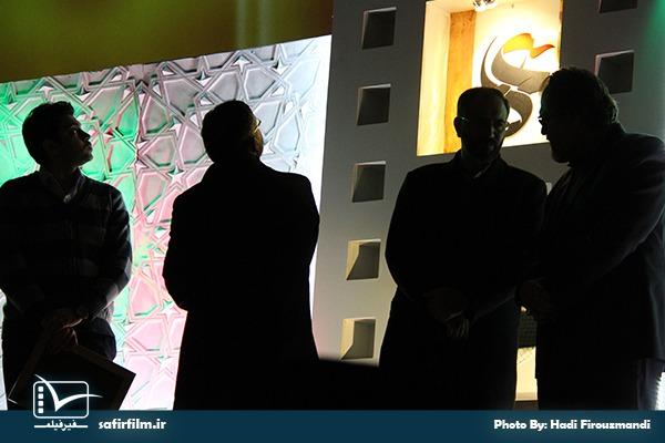 اهدای جوایز برگزیدگان جشنواره عمار چهارم توسط هیأت داوران