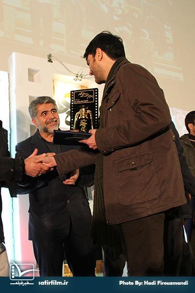 تقدیر از کمیل سوهانی کارگردان مستند «جای خالی»، برنده فانوس زرین چهارمین جشنواره مردمی فیلم عمار در بخش «نقد درون گفتمانی، فتنه ۸۸ و جنگ نرم»