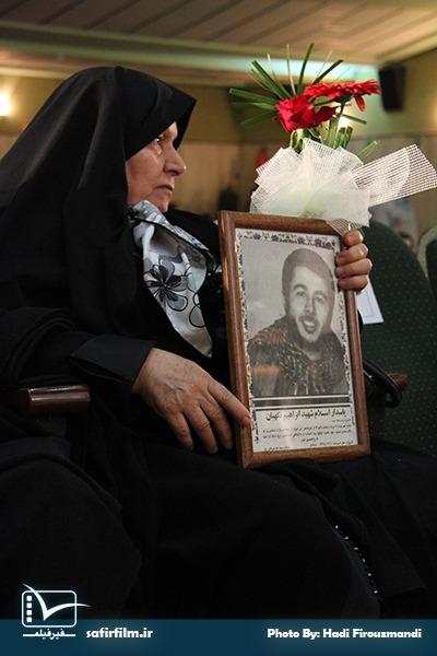 حضور جانبازان دفاع مقدس و خانواده های شهدا در اختتامیه چهارمین جشنواره مردمی فیلم عمار، سینما فلسطین