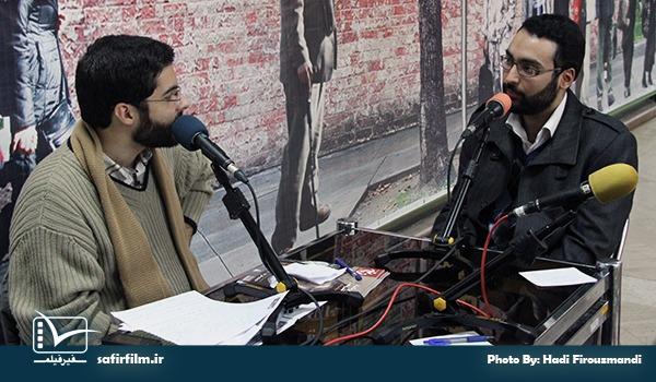 گفتگوی زنده مصطفی رضوانی٬ کارگردان مستند «نبرد خاموش» با برنامه رادیویی سینماعمار