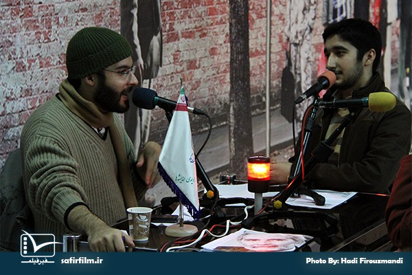 گفتگوی زنده رضا صادقی٬ کارگردان مستند «کدام انحراف؟» با برنامه رادیویی سینماعمار
