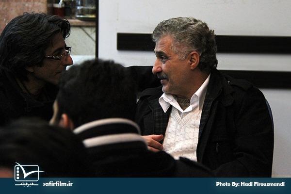 سیدناصر هاشم زاده در حاشیه اکران مستند «کدام انحراف؟» در جشنواره عمار