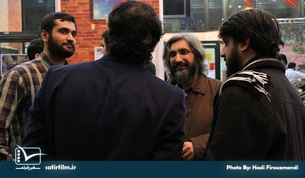وحید جلیلی از مسئولین برگزاری چهارمین جشنواره مردمی فیلم عمار