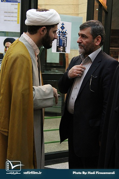 حضور دکتر صفار هرندی در ششمین روز از جشنواره مردمی فیلم عمار