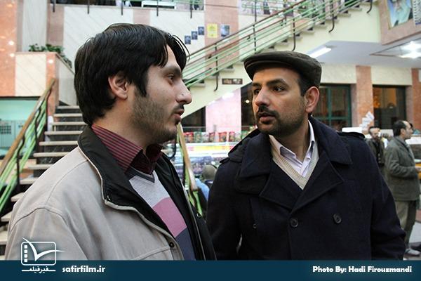 شهاب اسفندیاری و محمدصادق باطنی در ششمین روز از جشنواره مردمی فیلم عمار