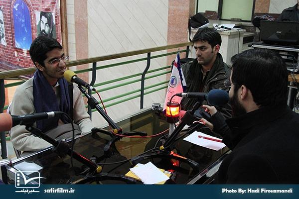 گفتگوی زنده سیدمهدی کرباسی و کمیل سوهانی با برنامه رادیویی سینماعمار