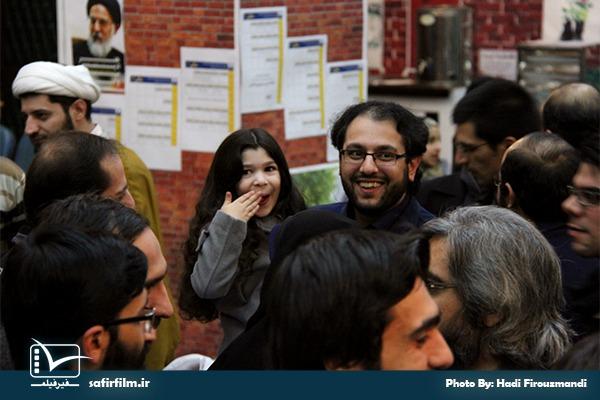 محمدرضا شفا٬ مسئول خانه فیلم داستانی٬ در جشنواره مردمی فیلم عمار