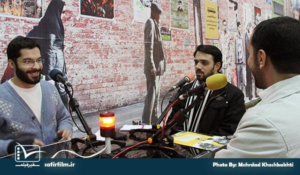 گفتگوی زنده علی عبدالوهاب٬ کارگردان مستند «مصاف ۱» با برنامه رادیویی سینماعمار