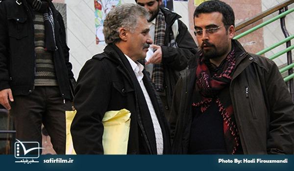 حضور ناصر هاشم زاده در اکران مستند «او با ما» در روز سوم جشنواره