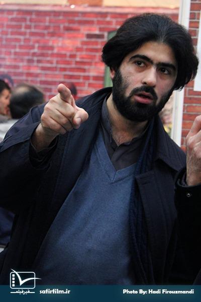 محمدباقر مفیدی کیا٬ کارگردان فیلم داستانی «لکه» در جشنواره مردمی فیلم عمار