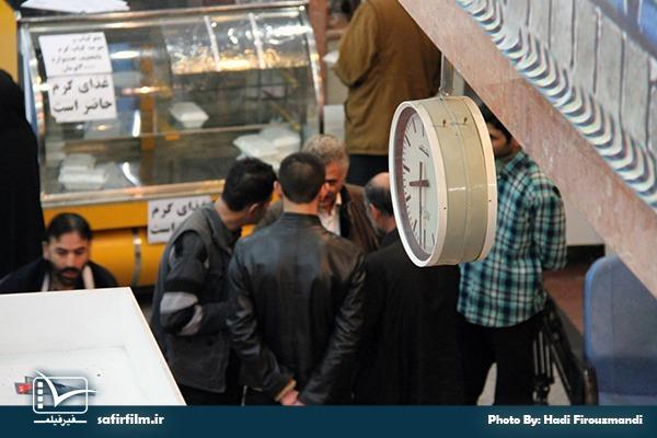 حاشیه های اکران مستند «شکار طبس» در سالن۲ سینما فلسطین