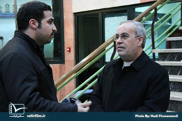حضور رضا پورحسين٬ مدير شبكه ۴ سيما در چهارمین جشنواره مردمی فیلم عمار